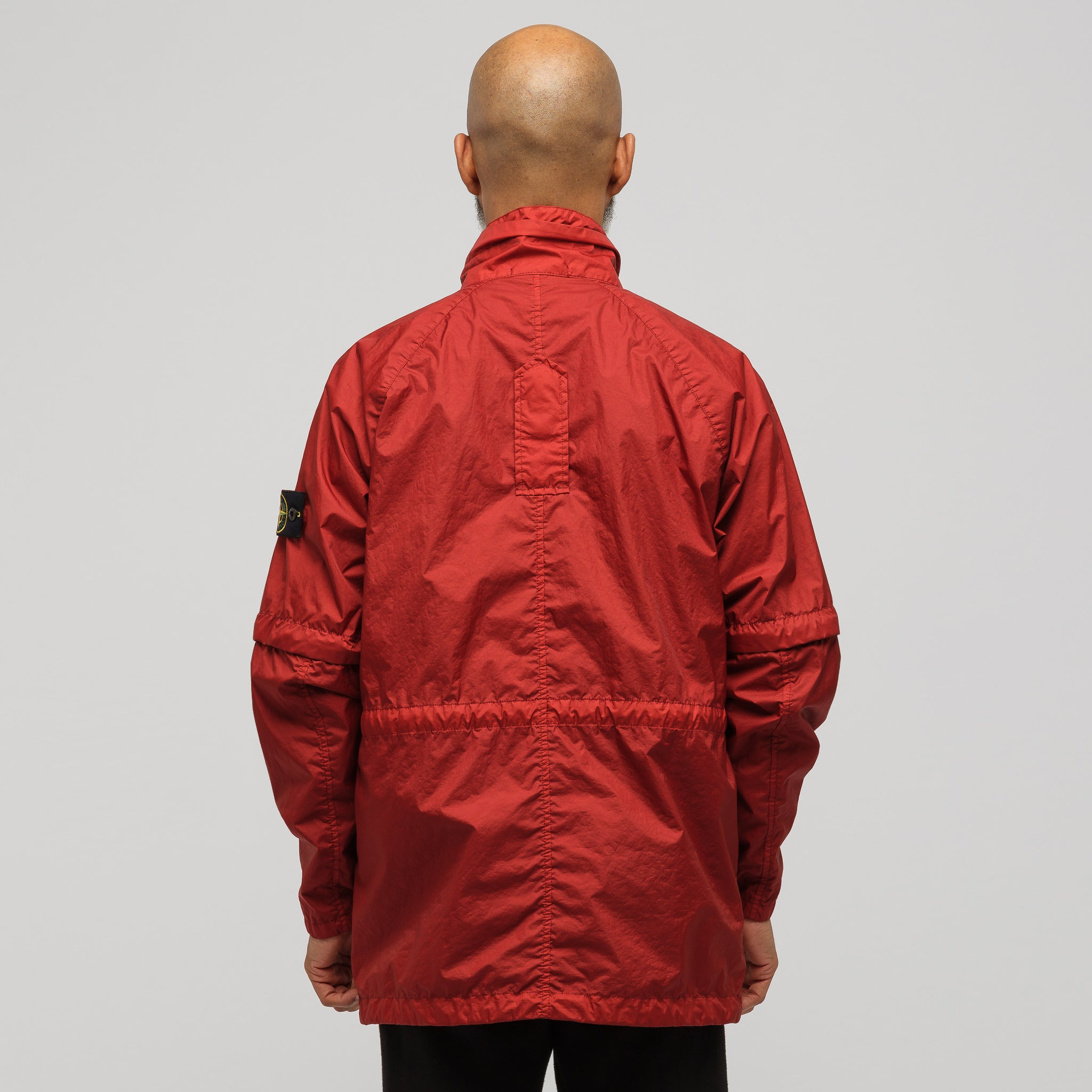 40223 Membrana 3L TC Jacket in Brick Red