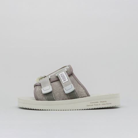 A-COLD-WALL* Concrete Objects x Suicoke Lead Resin KAW Sandal with Resin Tab - Notre