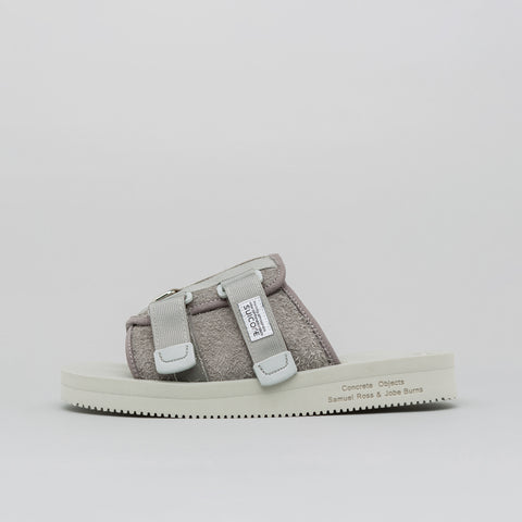 A-COLD-WALL* Concrete Objects x Suicoke Lead Resin KAW Sandal - Notre
