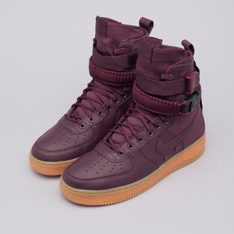 Nike Special Field Air Force 1 in Deep Burgundy - Notre