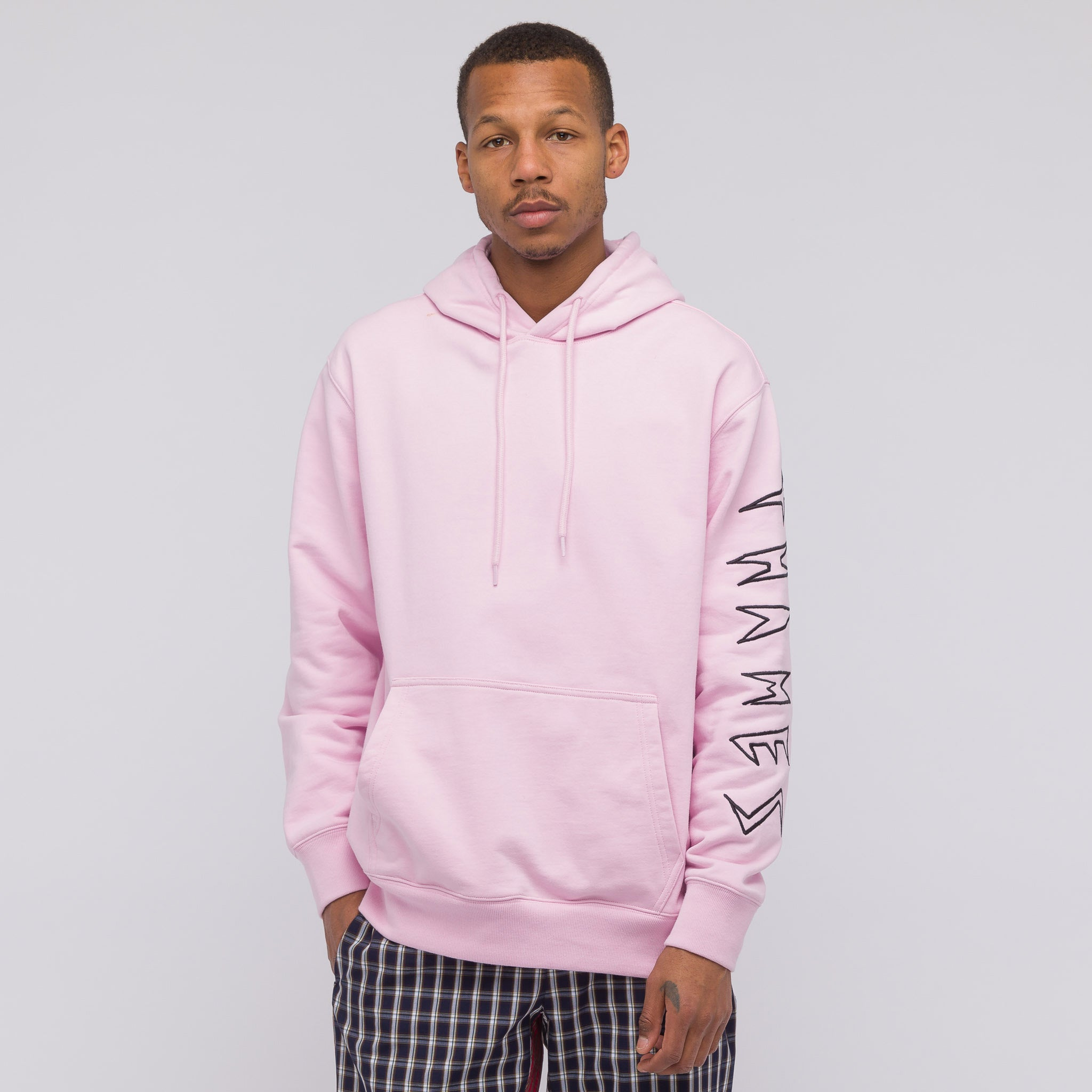 Linda Hooded Sweatshirt in Rose Pink