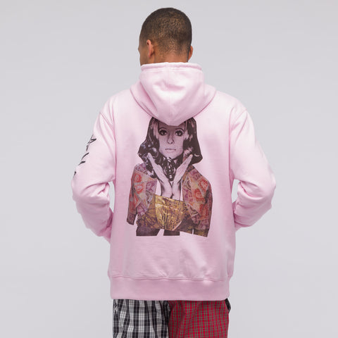 Thames Linda Hooded Sweatshirt in Rose Pink - Notre