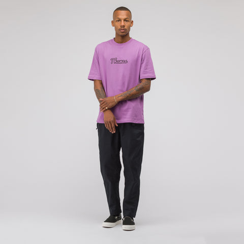 Thames Logo T-Shirt in Lilac - Notre