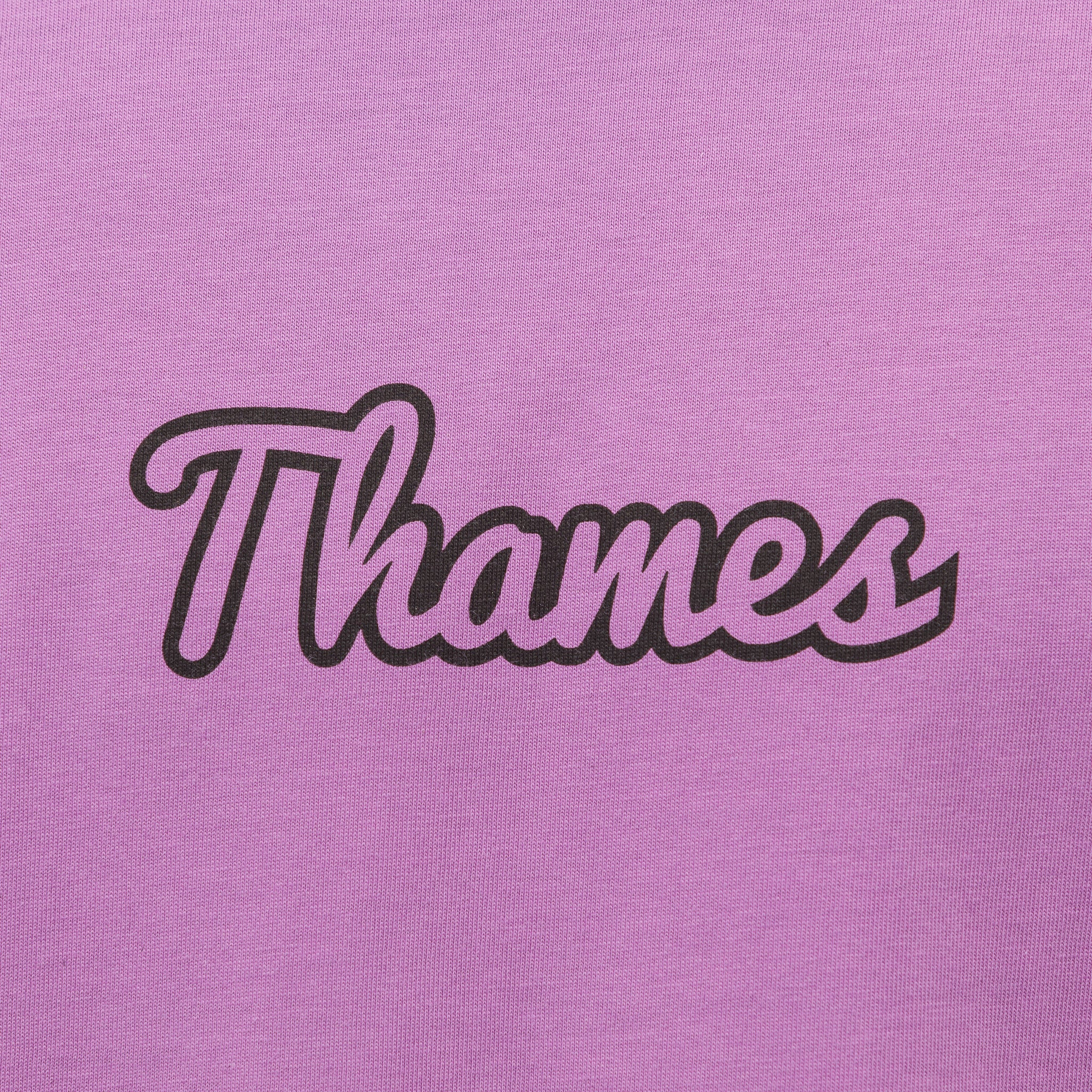 Logo T-Shirt in Lilac