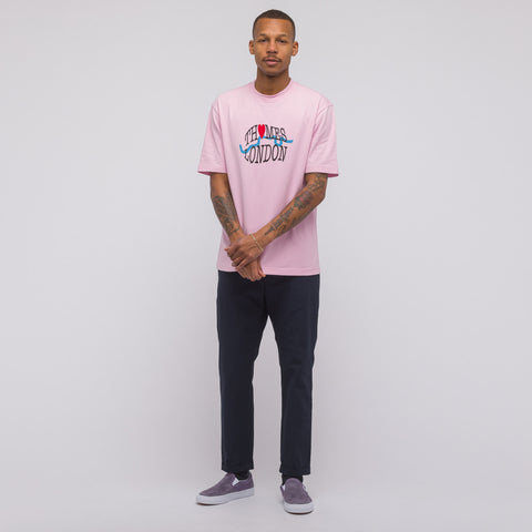 Thames Tourist T-Shirt in Rose Pink - Notre
