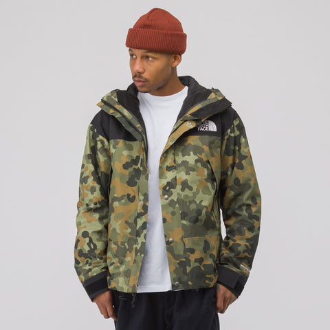 The North Face Black Label 1990 GORE-TEX 2L Shell Mountain Jacket in Camo/Black - Notre