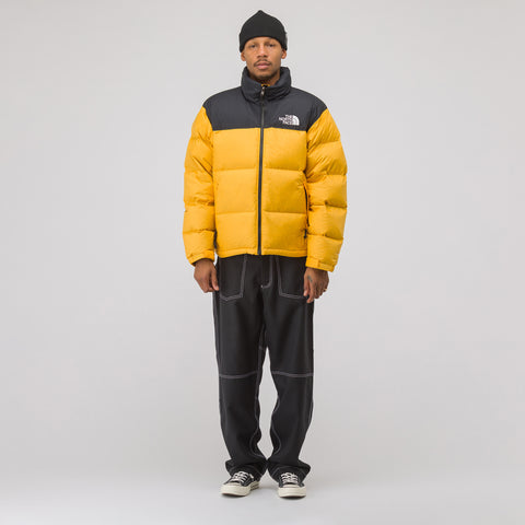 The North Face 1996 Retro Nuptse Jacket in Yellow - Notre