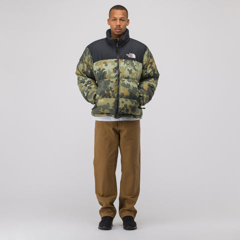 The North Face Black Label 1996 Seasonal Nuptse Jacket in Camo/Black - Notre