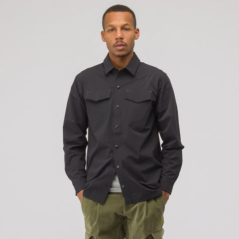 The North Face Black Label City Pockets Welding Shirt in Black - Notre