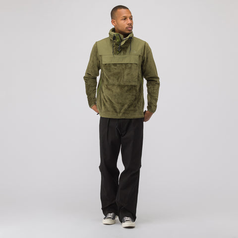 The North Face Black Label City Quarter Zip in Burnt Olive - Notre