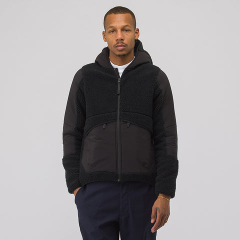 The North Face Black Label City Shearling Fleece Jacket in Black - Notre