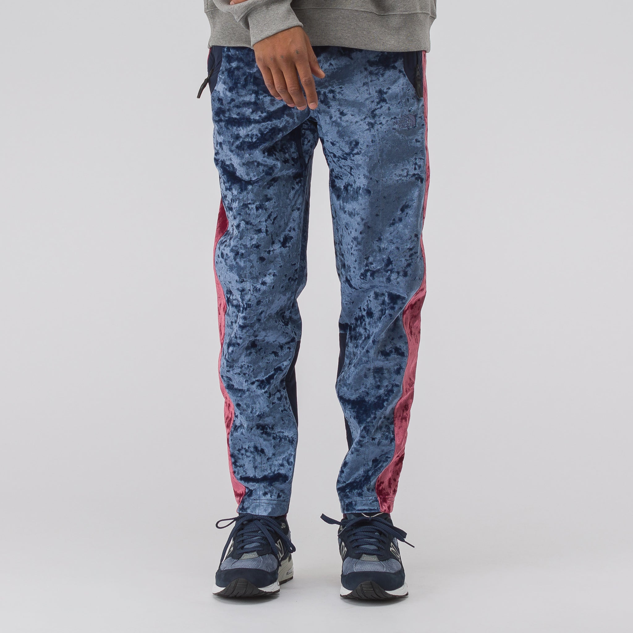 ae03d7a3abaa The North Face Black Label City Velvet Track Pant in Cosmic Blue