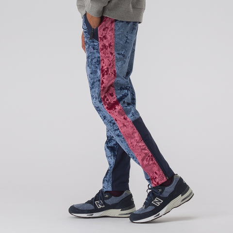 The North Face Black Label City Velvet Track Pant in Cosmic Blue - Notre