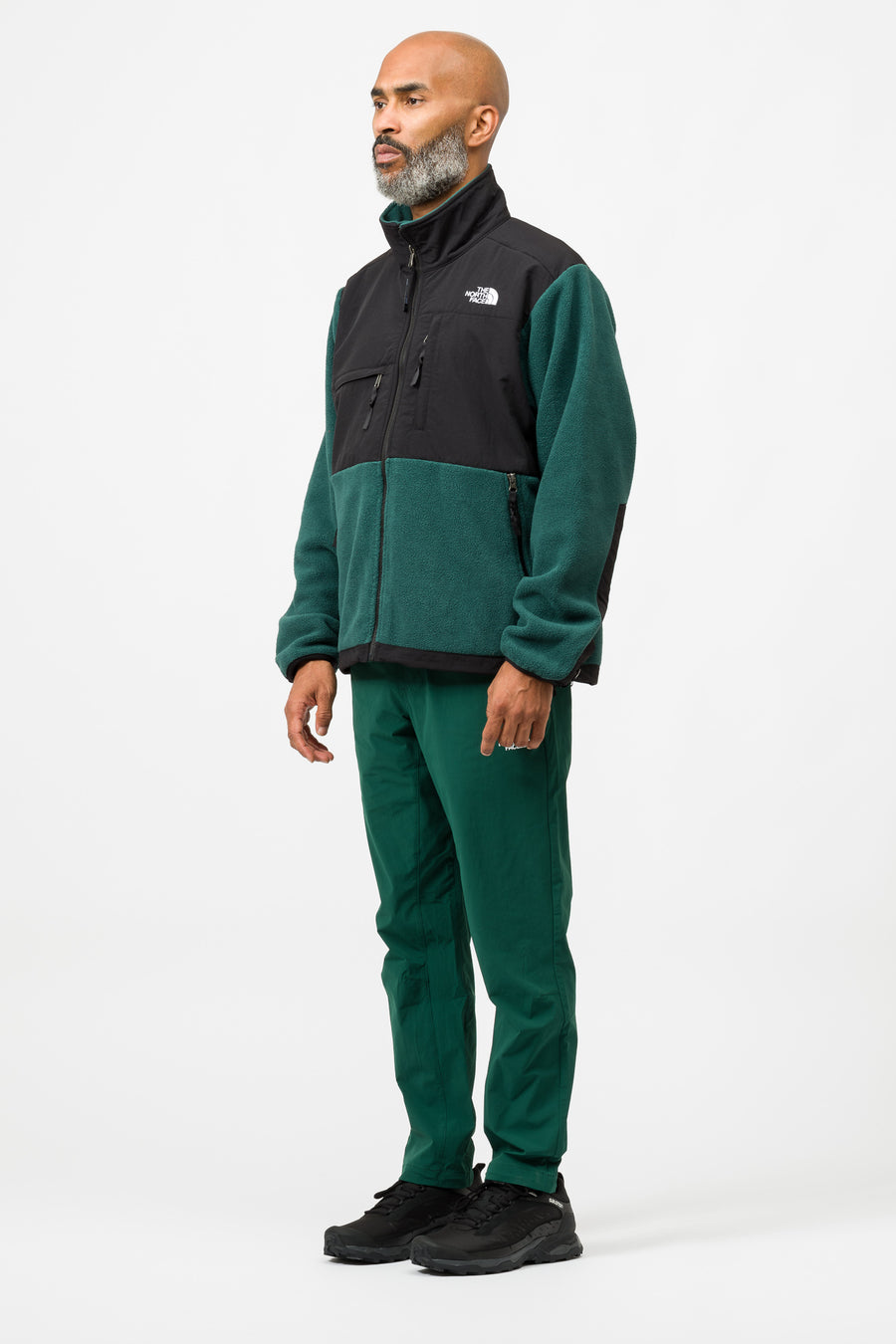 The North Face 95 Retro Denali Jacket in Night Green - Notre