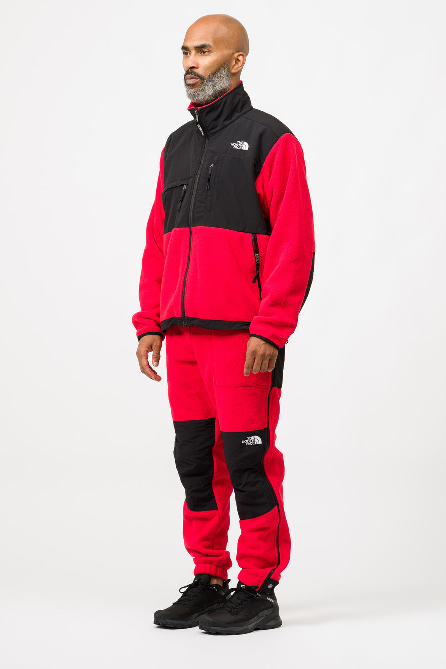 The North Face 95 Retro Denali Jacket in Red/Black - Notre