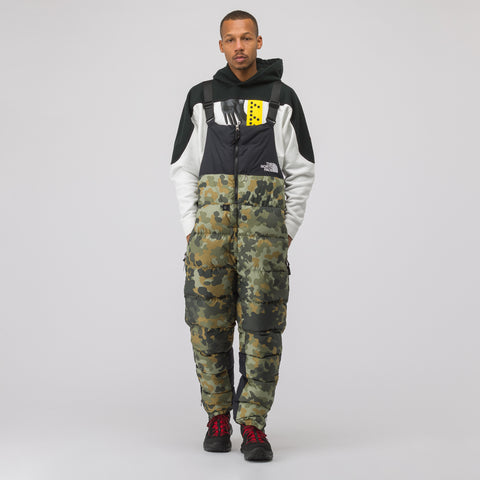 The North Face Black Label Nuptse Bib Snowpant in Camo/Black - Notre