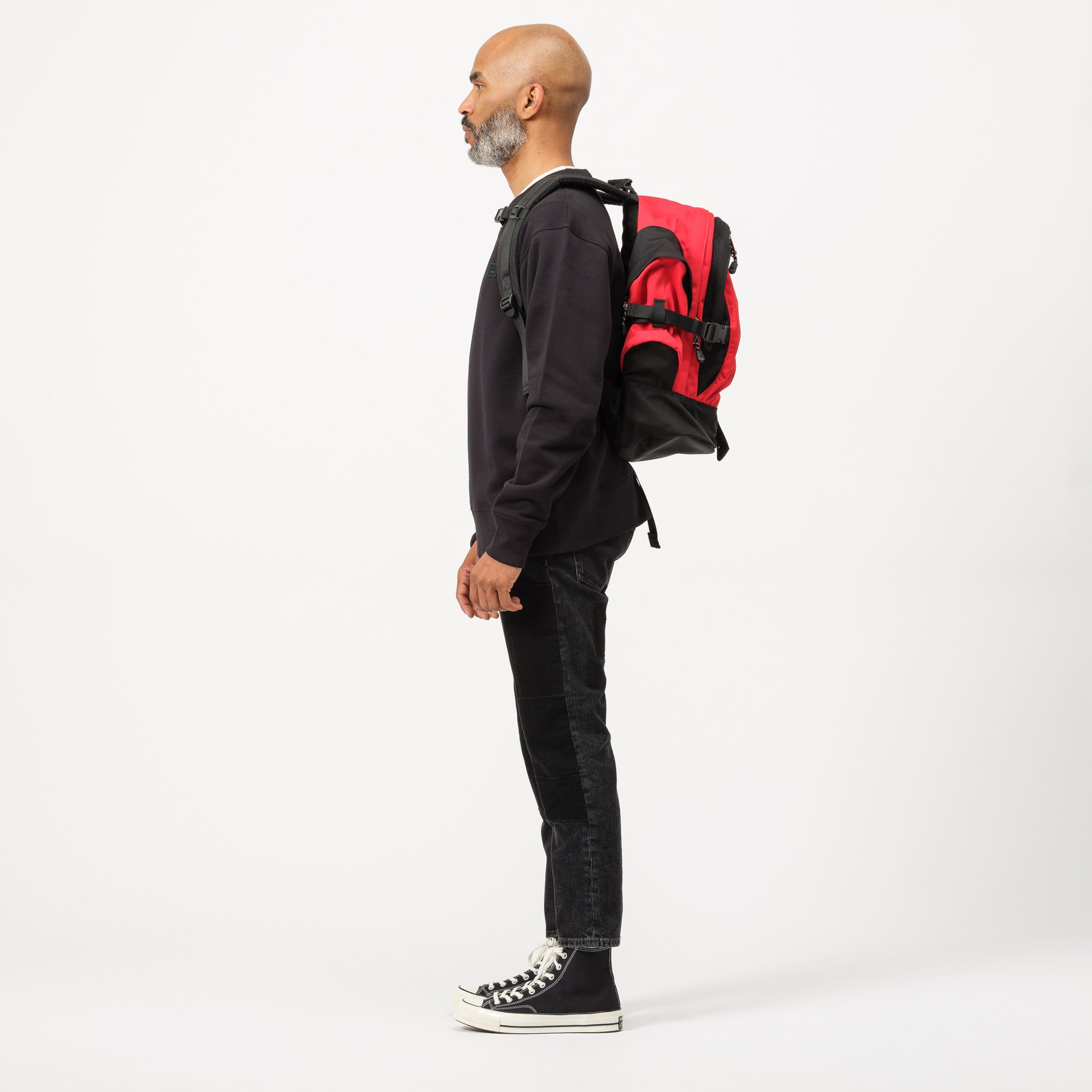 Wasatch Reissue Backpack in Red/Black