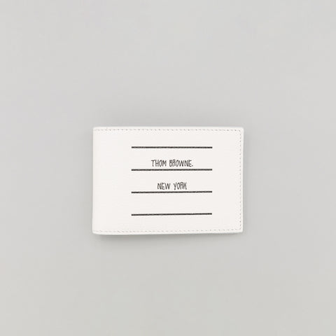 Thom Browne Money Clip Aperto in Black - Notre
