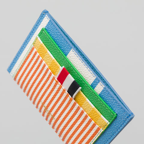 Thom Browne Double Sided Cardholder in Fun Mix - Notre