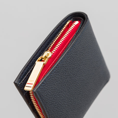 Thom Browne Billfold in Red/White/Blue - Notre