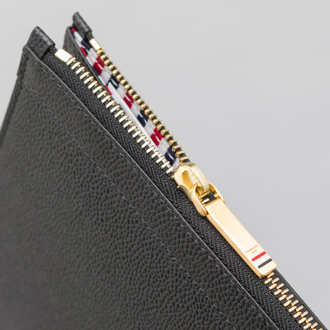 Thom Browne Document Gusset Folio in Black - Notre