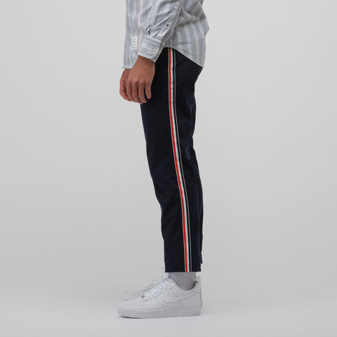 Thom Browne Unconstructed Chino Trouser in Navy - Notre
