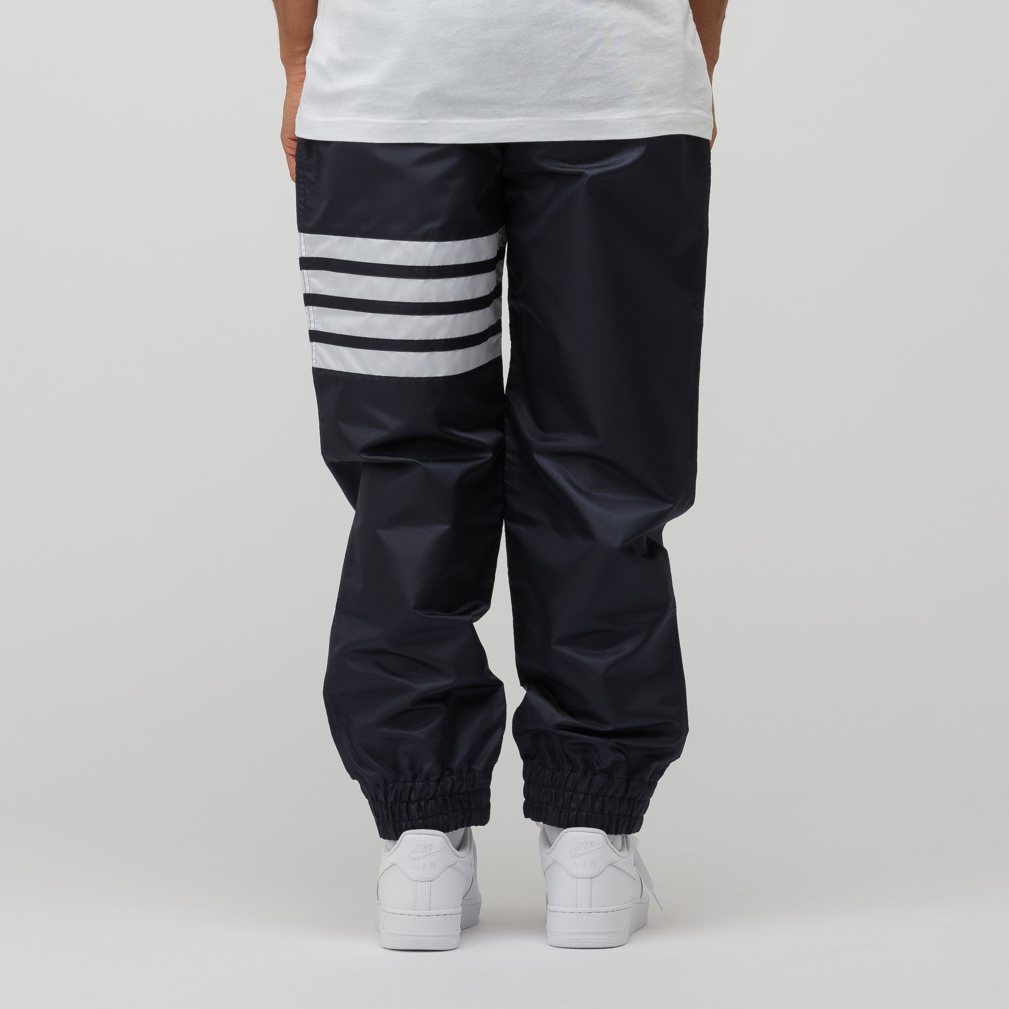 Relaxed Fit Track Pants in Navy