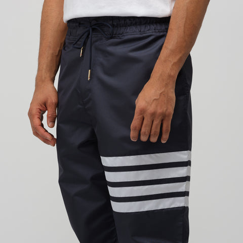 Thom Browne Relaxed Fit Track Pants in Navy - Notre
