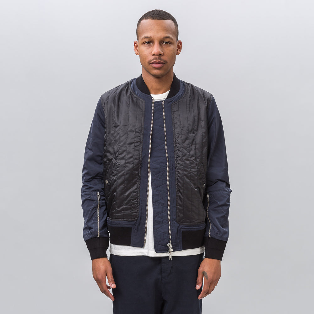 Tim Coppens MA-1 Bomber in Navy - Notre