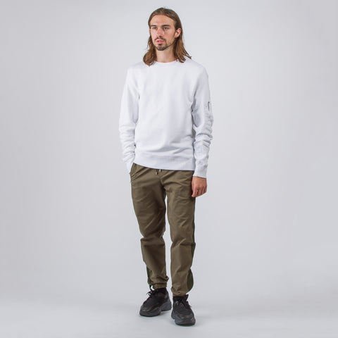 Tim Coppens MA-1 Crewneck in White - Notre