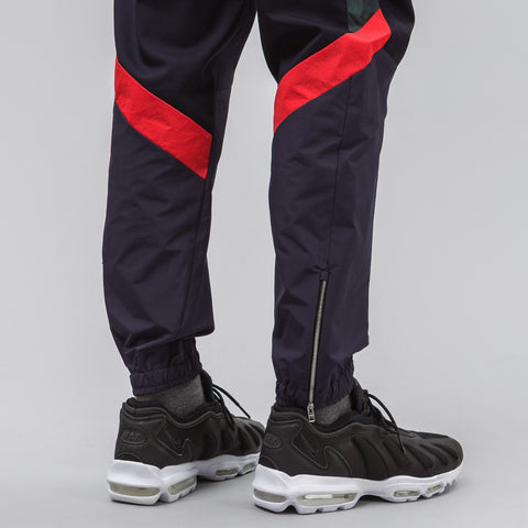 Tim Coppens Pieced Jogger in Navy/Multi - Notre