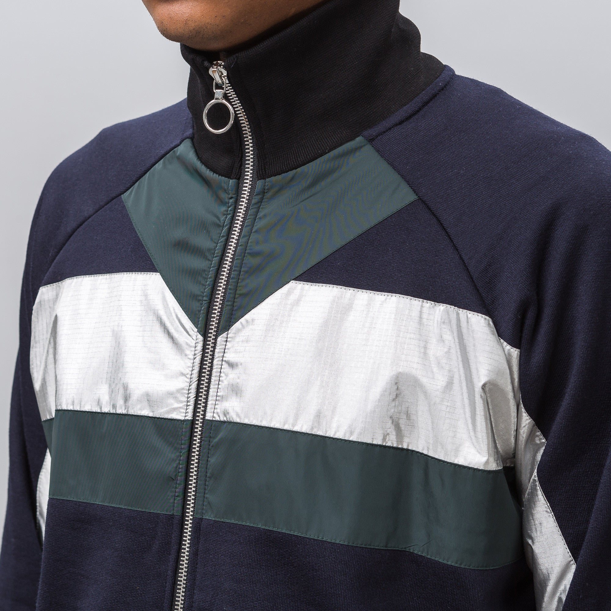XTC Track Jacket in Navy Multi