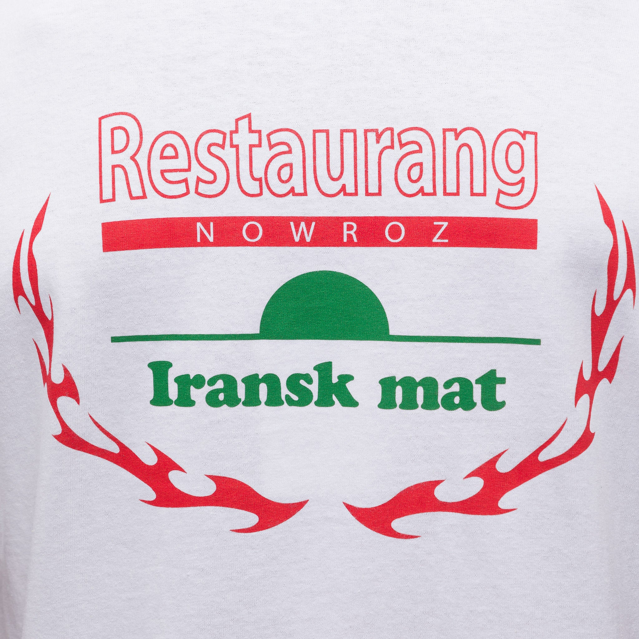 Nowroz Souvenir T-Shirt in White