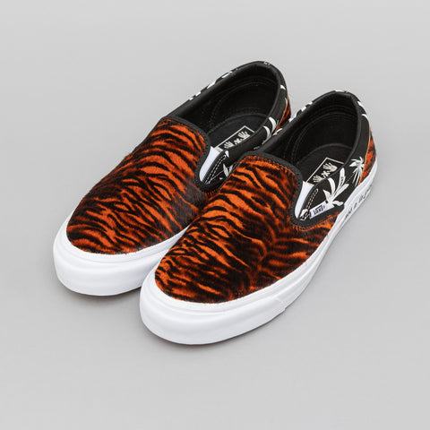 Vans Vault x Vier 5x5 Classic Slip-On in Tiger/Palm - Notre