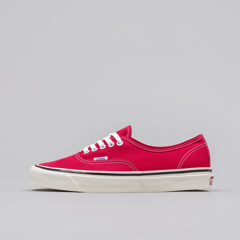 Vans Authentic 44 DX Anaheim Factory in Red - Notre