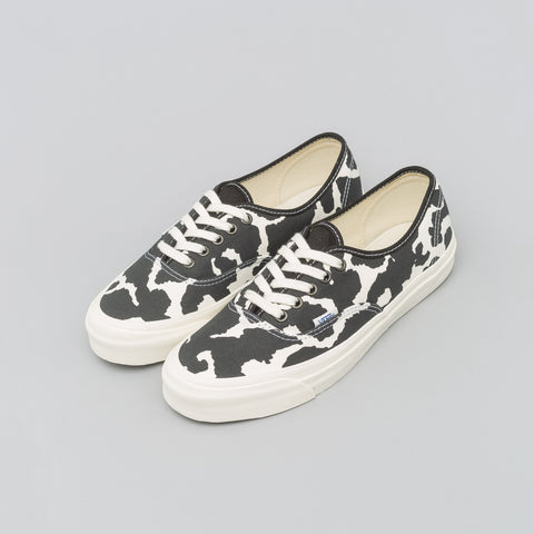 Vans Vault Authentic LX Cow Pattern in Black/White - Notre