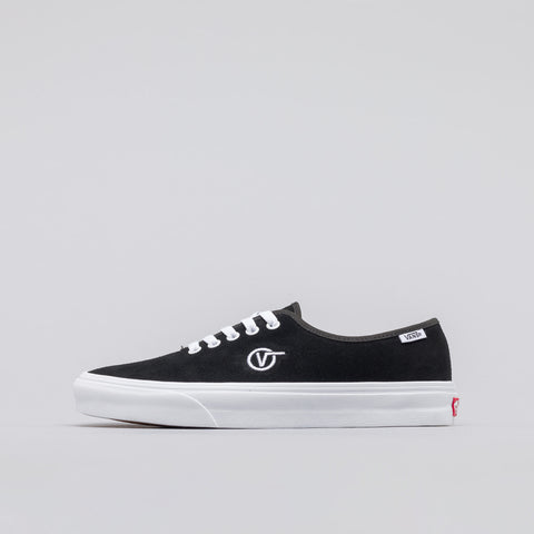 Vans Authentic One Piece Circle V in Black Suede - Notre
