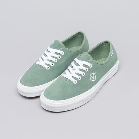 Vans Authentic One Piece Circle V in Green Bay Suede - Notre