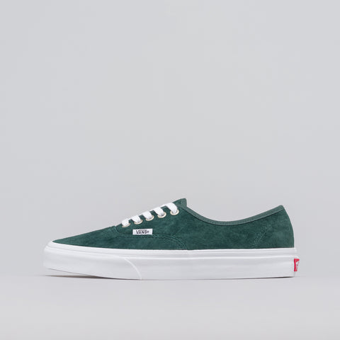 Vans Authentic Pig Suede in Darkest Spruce - Notre