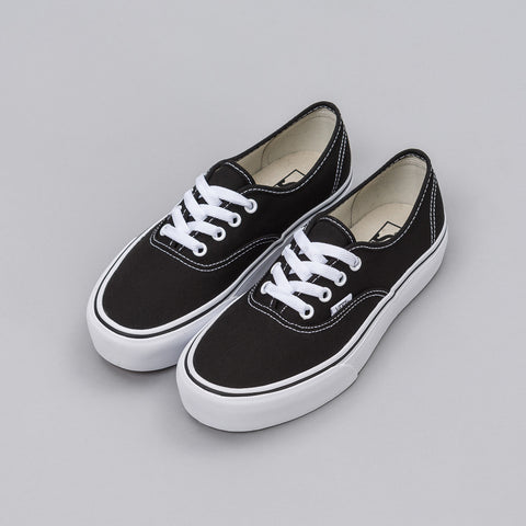 Vans Authentic Platform in Black - Notre