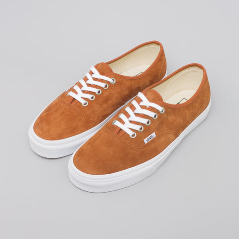 Vans Authentic Pig Suede in Rust - Notre