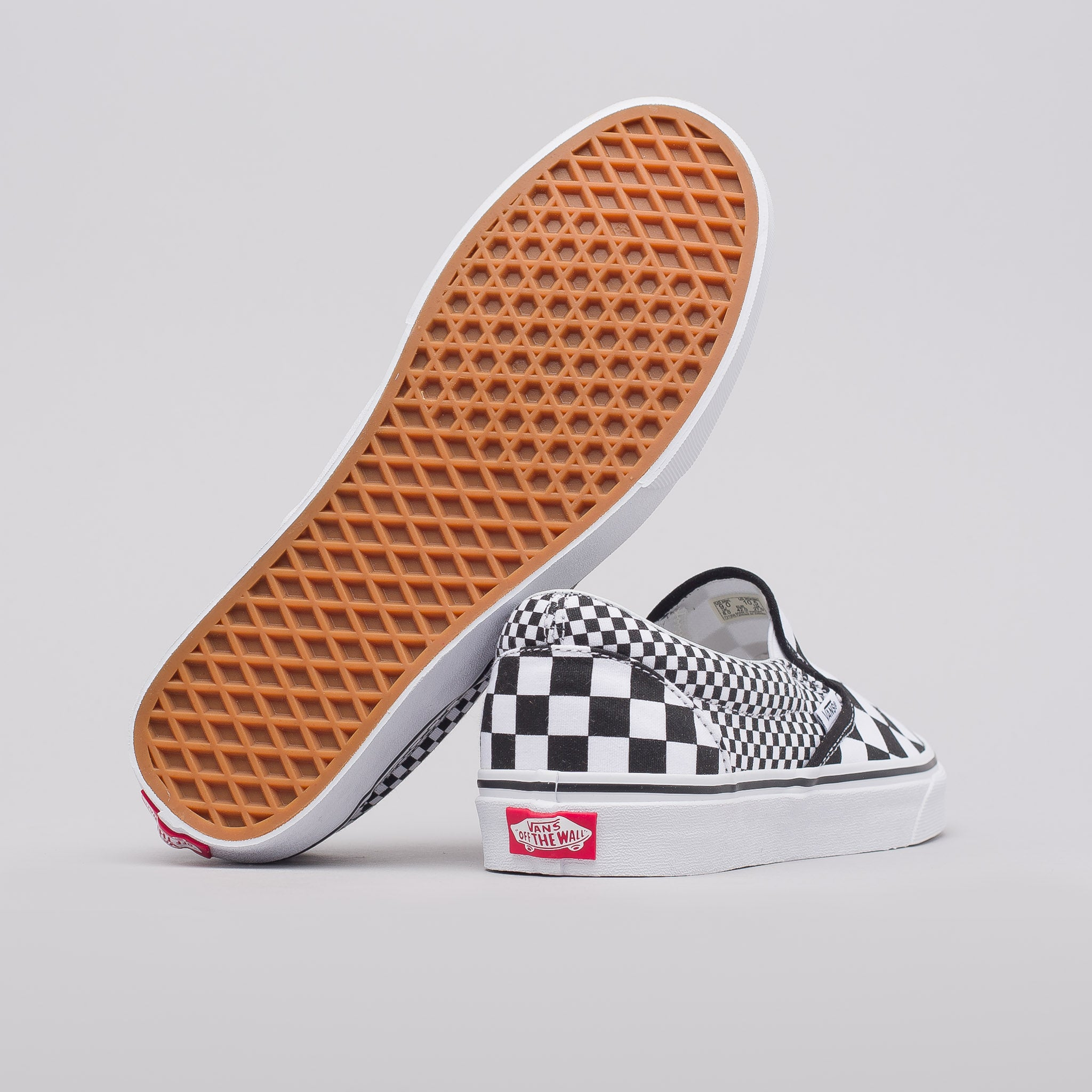 Classic Slip-On in Checkerboard Mix