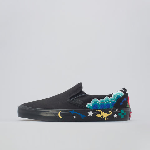 Vans Classic Slip-On Desert Embellish in Raven - Notre