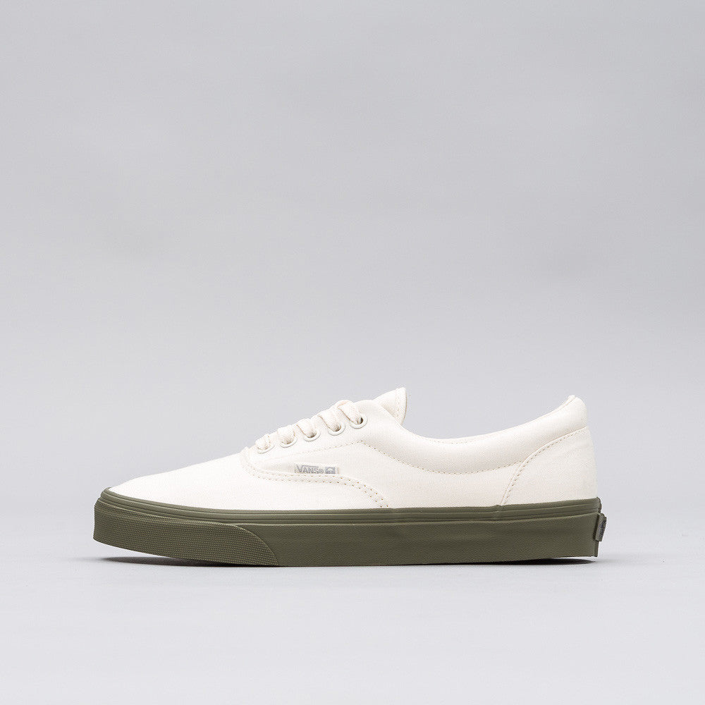 Vans Era in Classic White/Ivy Green - Notre