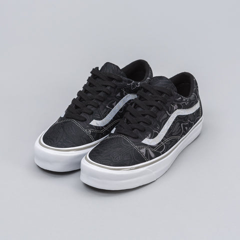 Vans Vault Old Skool Jacquard Jungle Check in Black - Notre