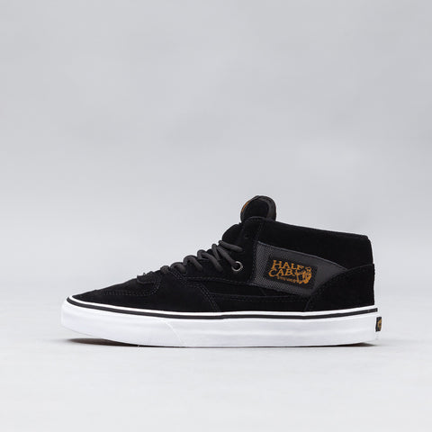 Vans Half Cab in Military Black Suede - Notre
