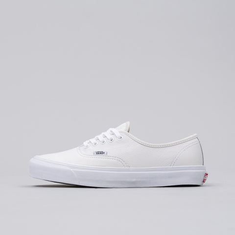Vans Vault UA OG Authentic LX in White - Notre