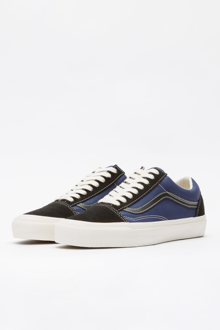 Vans Vault Old Skool LX in Black/Blue - Notre
