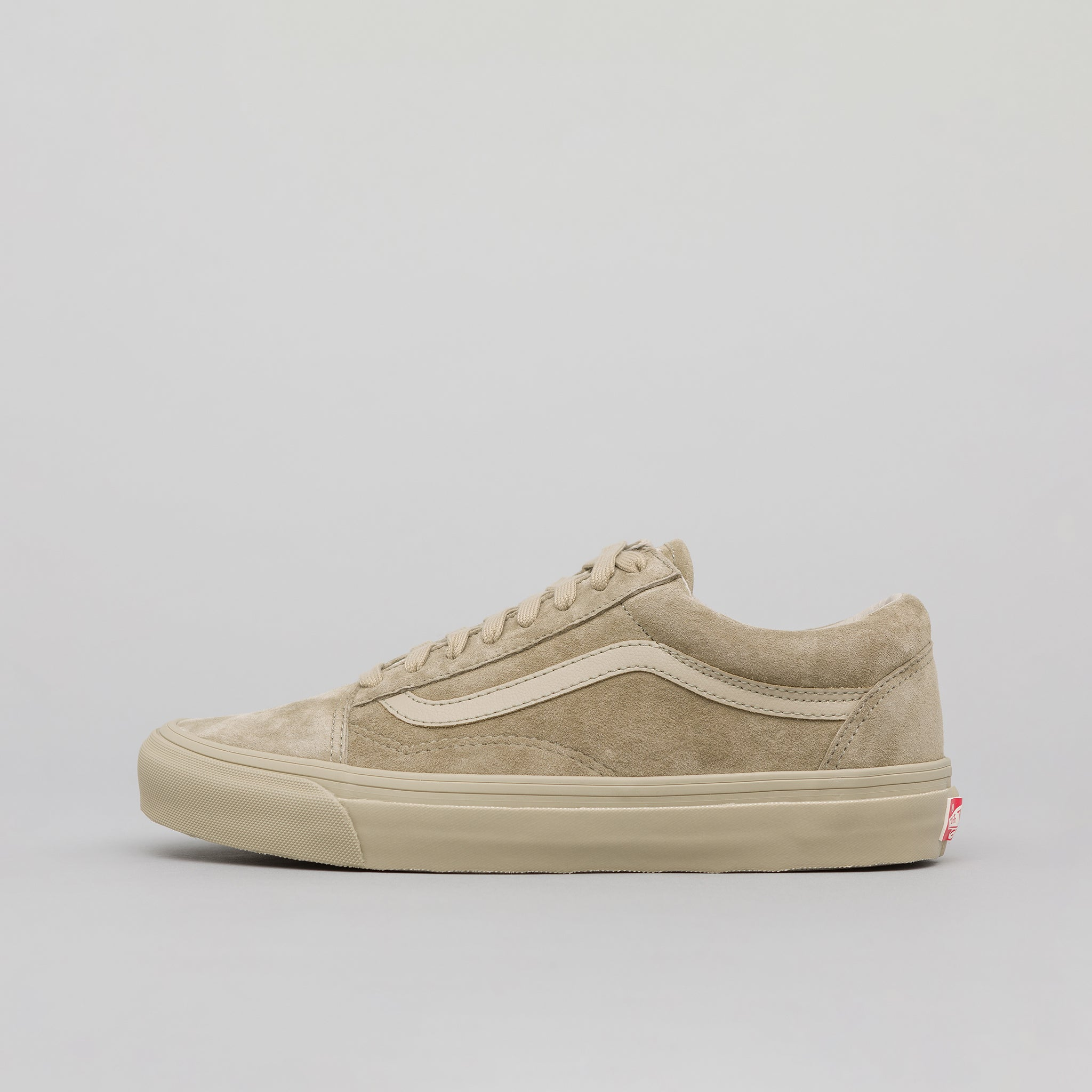 edf3940d22fa8a Old Skool LX Leather Suede in Taupe · Vans Vault