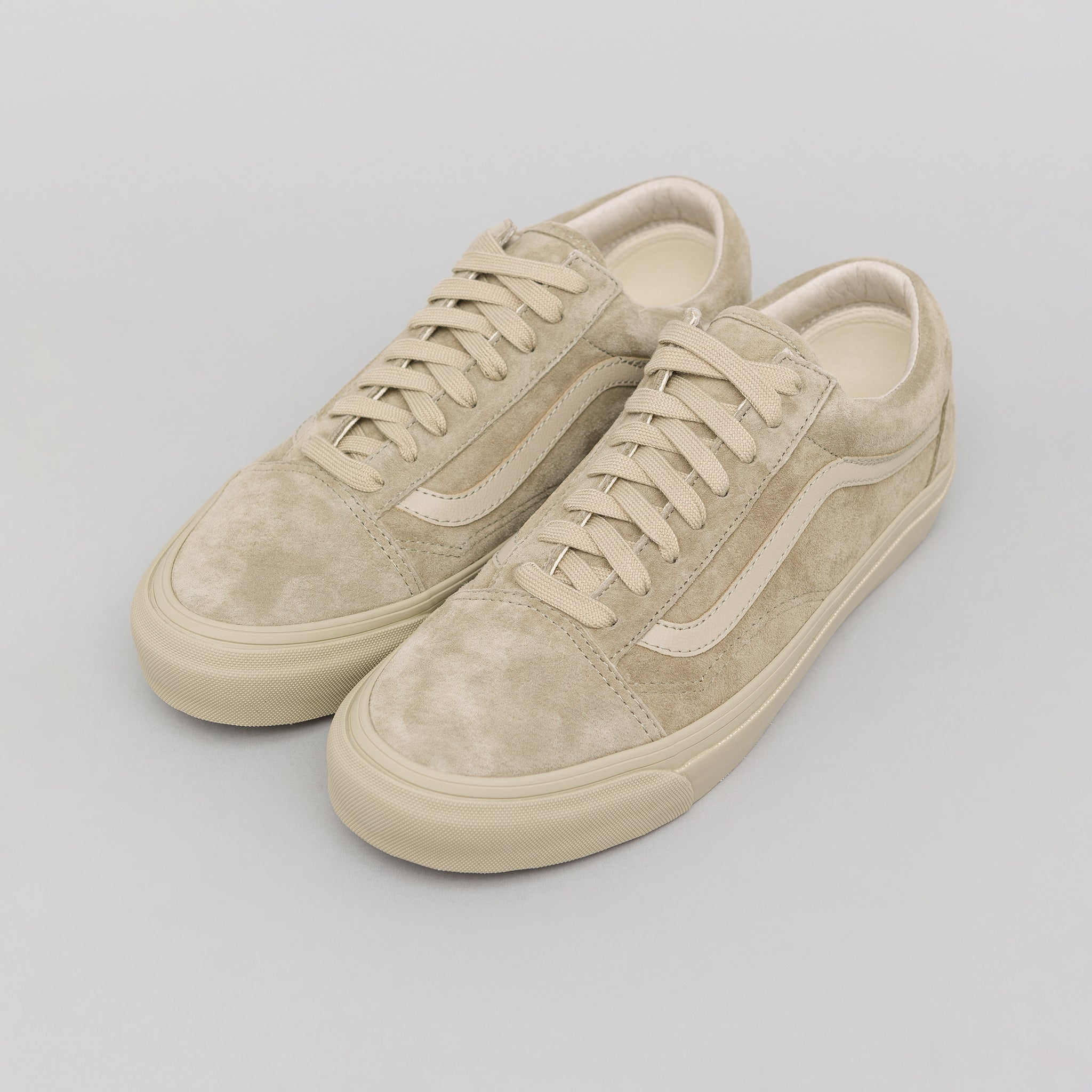 76ba1cfb3a5a0e Vans Vault Old Skool LX Leather Suede in Taupe